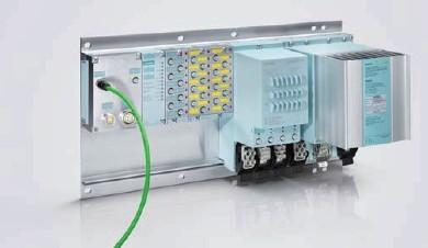 可以连接模拟量,数字量,西门子变频器,电机启动器,rfid 及气动单元等